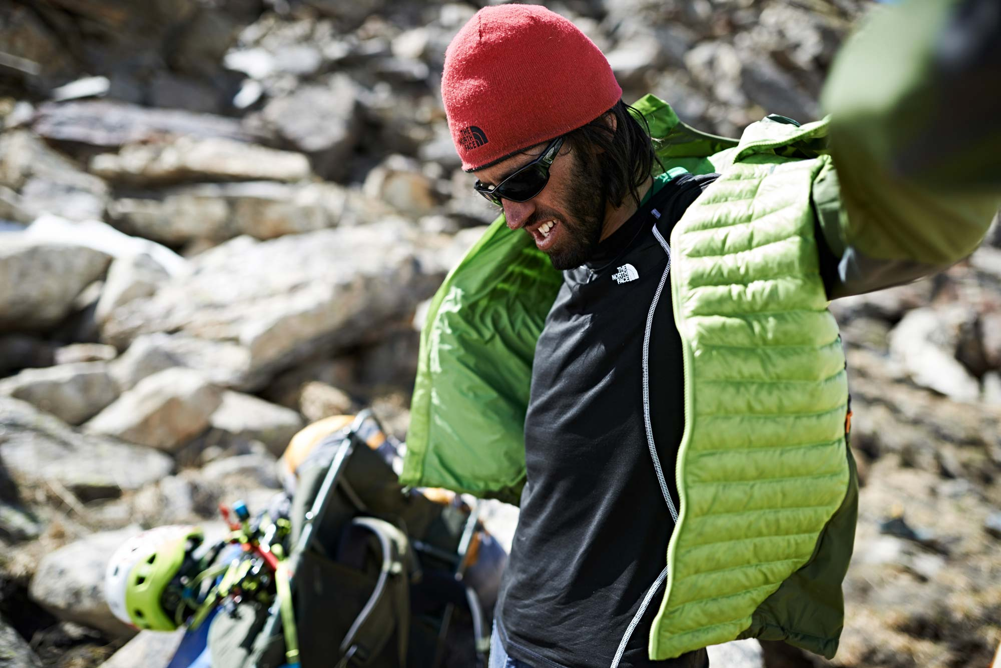 MANUEL FERRIGATO ON EXPEDITION